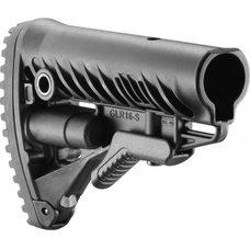 Полимерный приклад GLR-16 черный