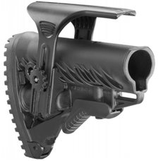 Полимерный приклад с упором для щеки GLR-16 CP черный