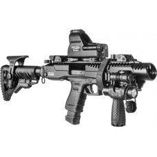 Преобразователь пистолета в карабин Glock 17-19, чёрный, приклад GLR