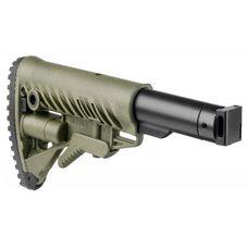 Телескопический складной приклад для САЙГИ/AK-74M/АК-100-ые серии, зелёный