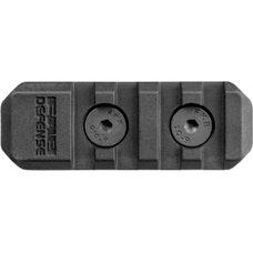Полимерная планка Пикатинни на M-LOK цевья Vanguard, 4 слота, чёрный fx-ma2b
