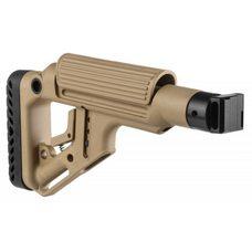 Складной приклад для САЙГИ/AK-74M/АК-100-ые серии, бежевый