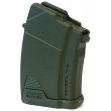 Магазин полимерный 7.62x39 на 10 патронов для AK зеленый