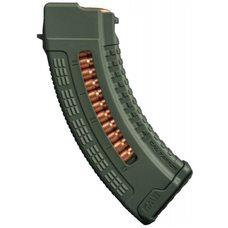 Магазин полимерный 7.62x39 на 30 патронов для AK (green)