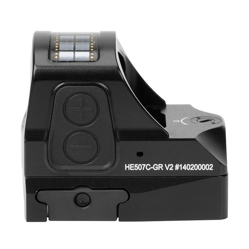 Коллиматорный прицел Holosun Open Reflex Elite HE507C-GR V2