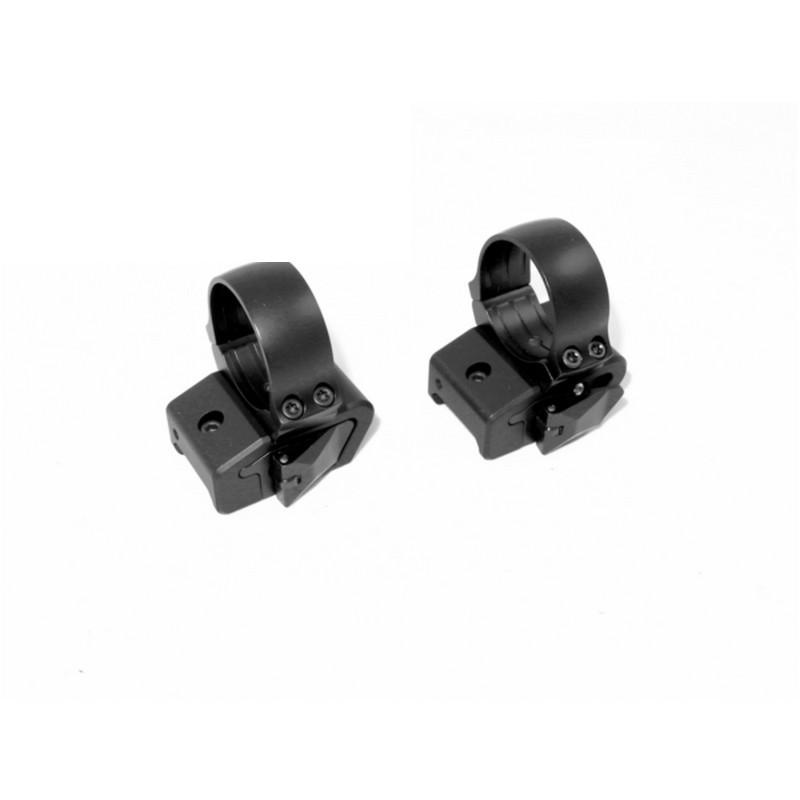 Раздельный БС кронштейн Innomount c кольцами 30 мм на Weaver/Picatinny высота 14 вынос 25 мм