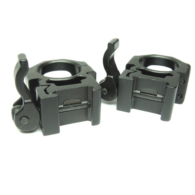 Быстросъемные кольца Leapers UTG под 25,4 мм на Weaver средние