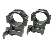 Быстросъемные кольца Leapers UTG под 30 мм на Weaver высокие