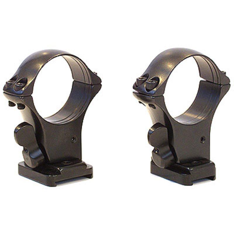 Быстросъемный кронштейн MAK на раздельных основаниях Remington 7400, кольца 25,4 мм