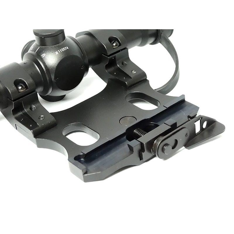 Оптический прицел Рысь 4М сетка №3 с кронштейном для СКС