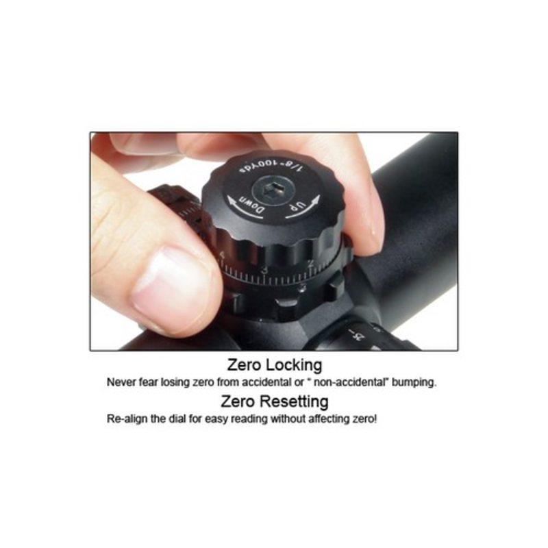 Оптический прицел Leapers UTG 3-12x44 Accushot Tactical (Mil-Dot)