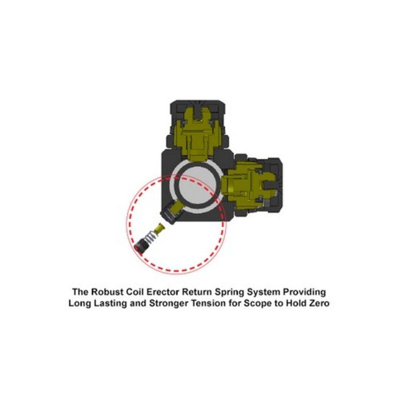 Оптический прицел Leapers UTG 1-4.5X28 Accushot Tactical Mil-Dot