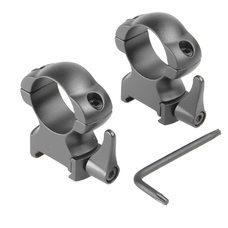 Быстросъемные Кольца Veber 2521 HS 25,4 мм высокие