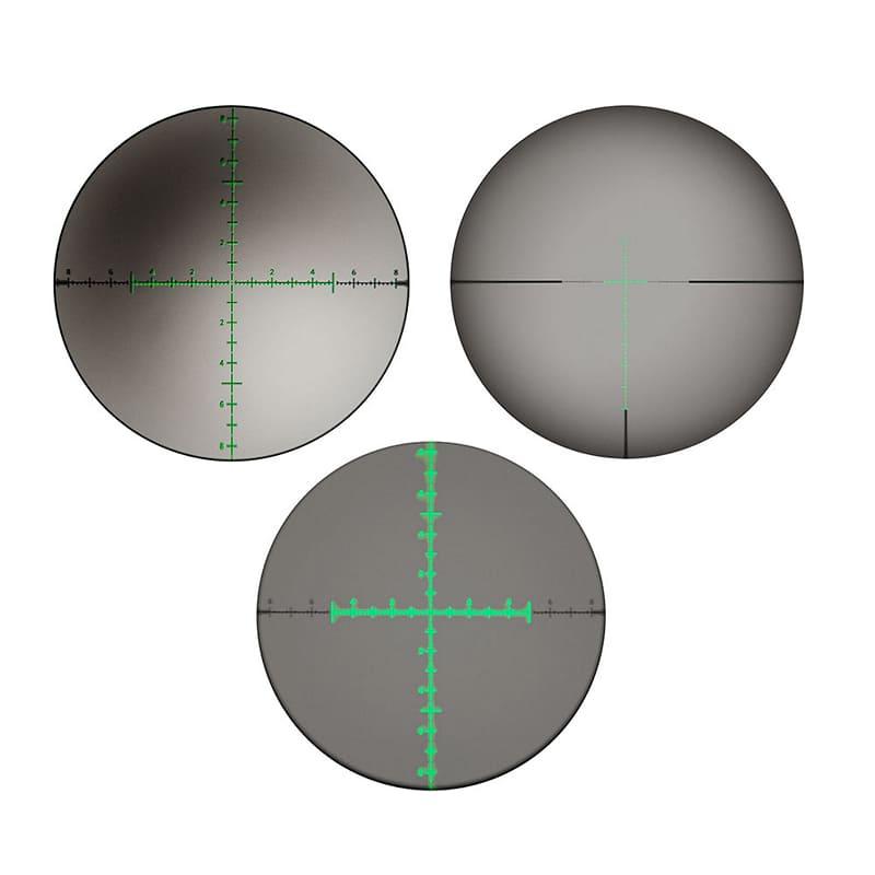 Оптический прицел Veber Wolf 3-15x50 SF IG RF1