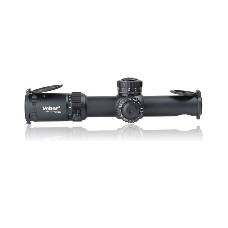 Оптический прицел Veber Wolf II 1-10х26 GB FD Загонник