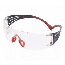 Очки стрелковые 3M SecureFit 401, линзы прозрачные, душки красные