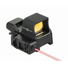 Коллиматорный прицел Sightmark Ultra Dual Shot Pro Spec NV QD c ЛЦУ крепление на Weaver (SM14003)