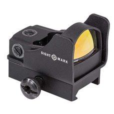 Коллиматорный прицел Sightmark Mini Shot Pro Spec Reflex sight зеленая точка 5МОА, крепление на Weaver (SM26007)