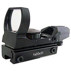 Коллиматорный прицел Target Optic 1x33 открытого типа, на призму 11мм