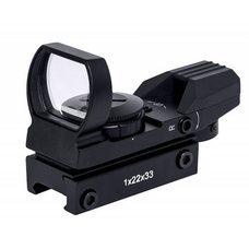 Коллиматорный прицел Target Optic 1х33 открытого типа, на Weaver