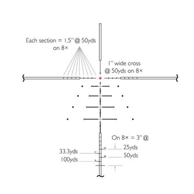Оптический прицел Hawke Sidewinder 6-24x56(SR Pro)