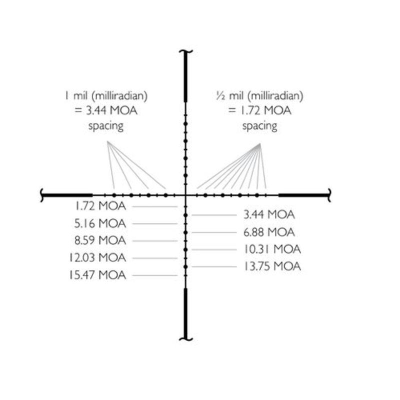 Оптический прицел Hawke Vantage SF 6-24x44 (1/2 Mil Dot)