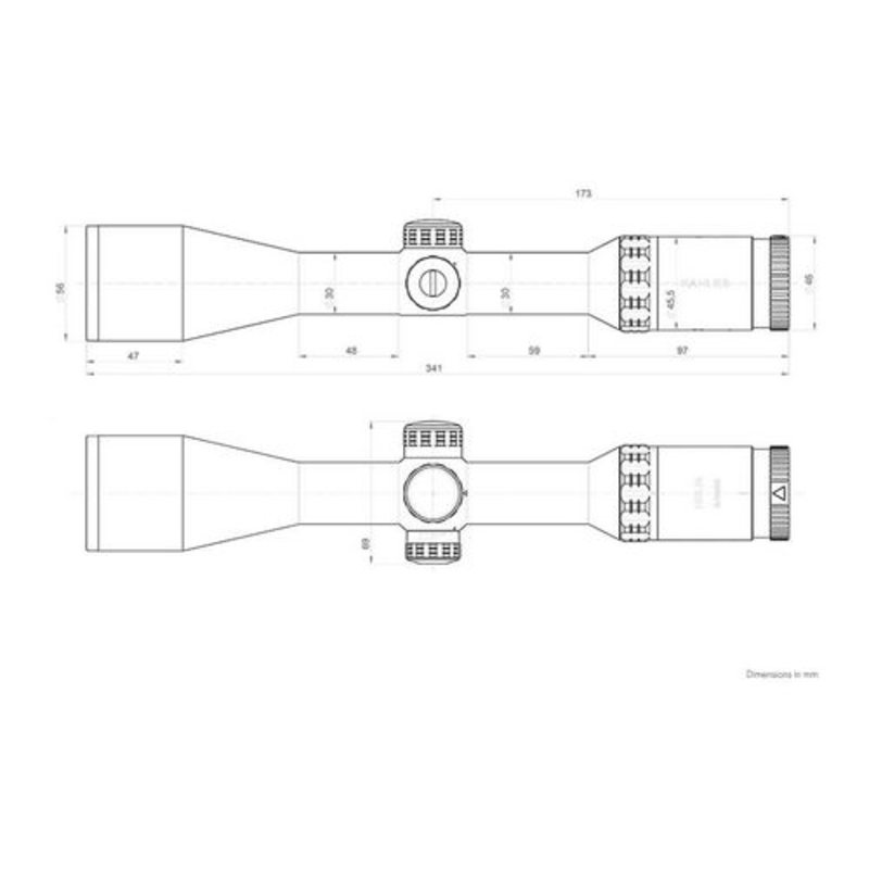 Оптический прицел Kahles Helia 2-10x50i (сетка 4-Dot) с подсветкой