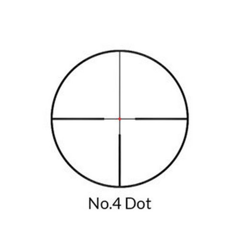 Оптический прицел Nikko Stirling серии Boar Eater 1-4x24, 30 мм, грав. сетка 4 Dot Extreme, подсветка точки