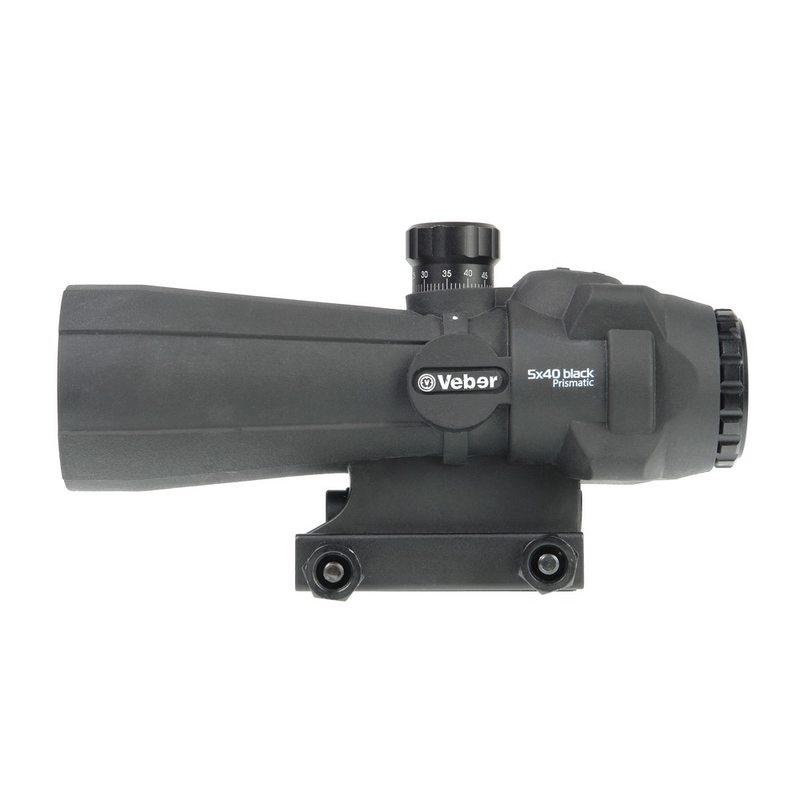 Оптический прицел Veber Wolf Prismatic 5х40 RGB