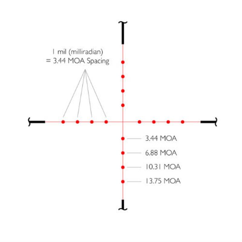 Оптический прицел Hawke Vantage 3-9x40 АО IR (Mil Dot)