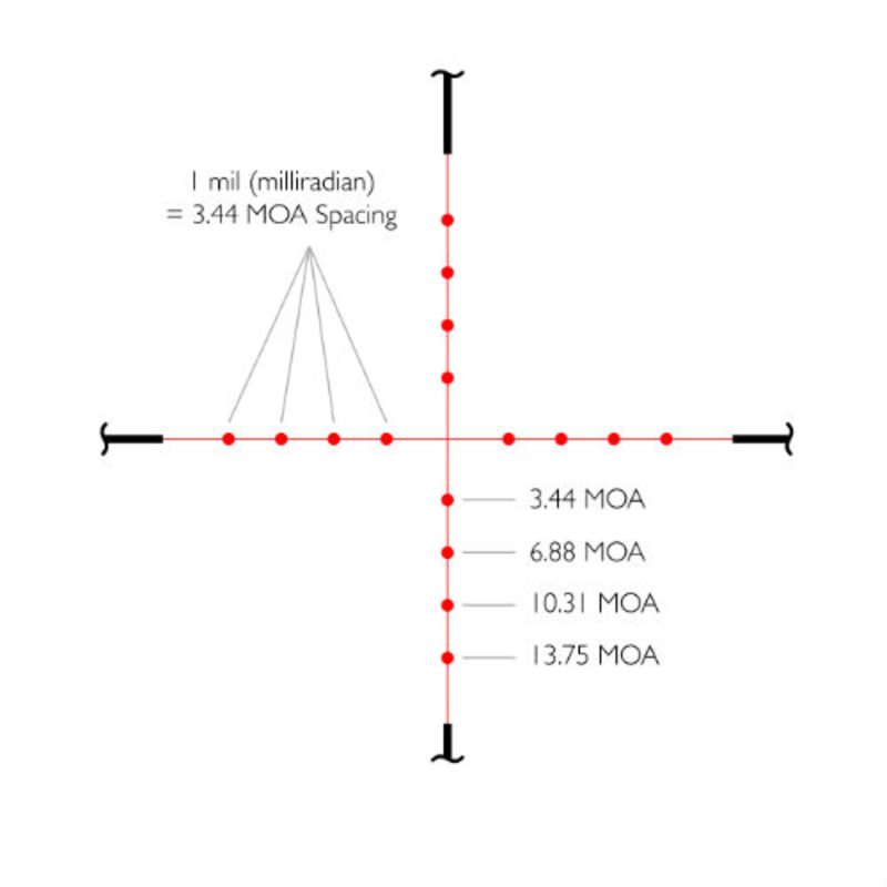 Оптический прицел Hawke Vantage 3-9x40 IR (Mil Dot)