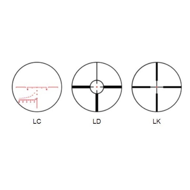 Оптический прицел Пилад Р8х56 L с подсветкой (LD)
