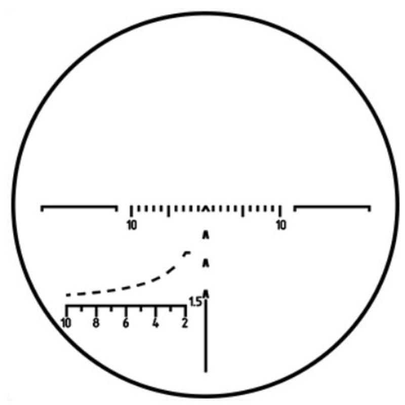 Оптический прицел Пилад Р4х32 МL с подсветкой (LK)