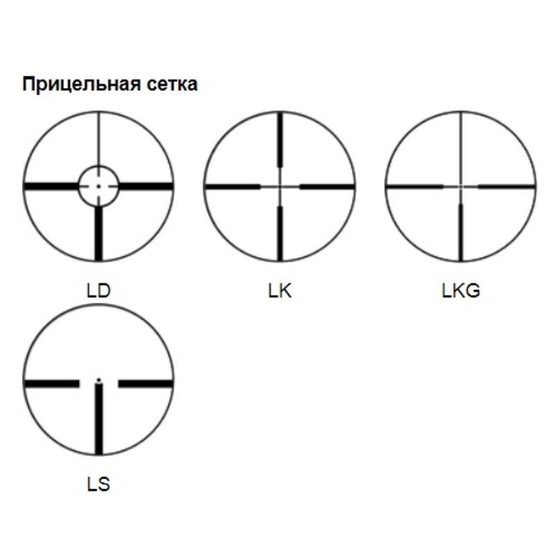 Оптический прицел PV 2-14x42LF с подсветкой, с фокусировкой (LD)