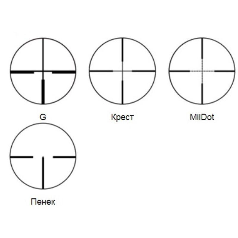 Оптический прицел PV 2-10x48 (Пенёк)