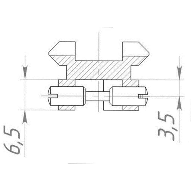 Планка Weaver на ИЖ-27, ТОЗ-34